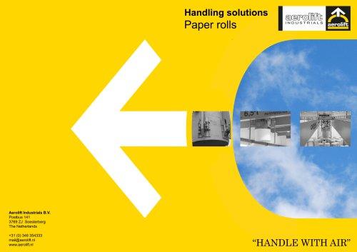 Paper industry brochure Aerolift