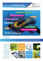 Standard OLED display module