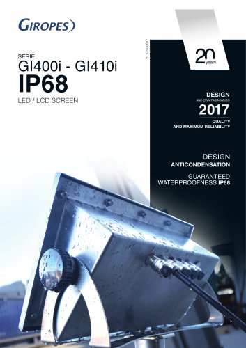 GI400 IP68 indicator