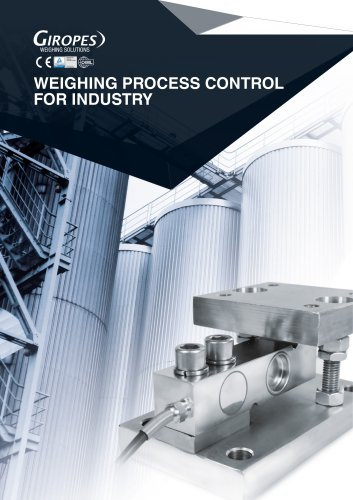 Weighing process control for industry