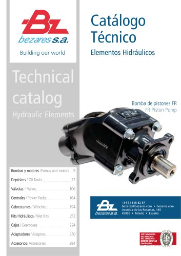 hydraulic elements - Technical catalogue