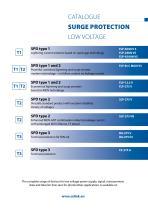 Catalogue  Surge protection  Low voltage - 3