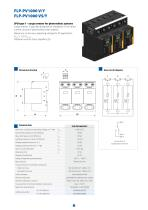Surge arresters  for photovoltaic systems - 11