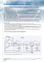 Surge arresters  for photovoltaic systems - 12