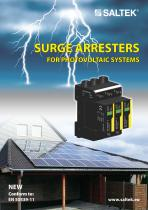 Surge arresters  for photovoltaic systems - 1