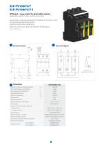 Surge arresters  for photovoltaic systems - 7