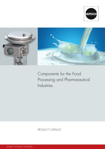 Components for the Food Processing and Pharmaceutical Industries