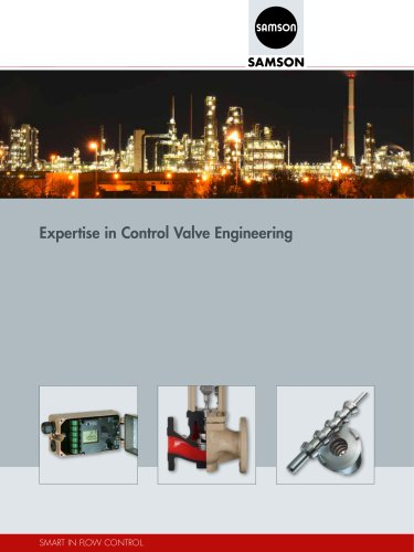 Expertise in Control Valve Engineering