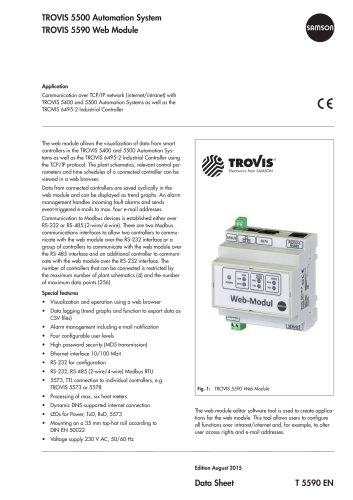 TROVIS 5590 Web Module