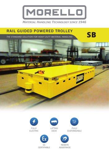 SB - Self-propelled trolley on rail