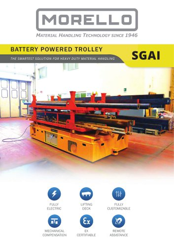 SGAI - Battery self-propelled trolley