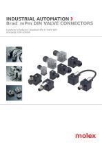 Brad® mPm® DIN valve connectors