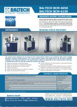 Bearing Condition Monitoring Stand BALTECH BCM