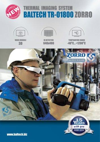 Infrared Camera BALTECH TR-01800 ZORRO