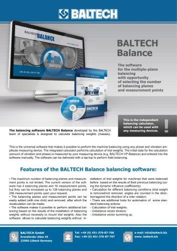 Software BALTECH Balance