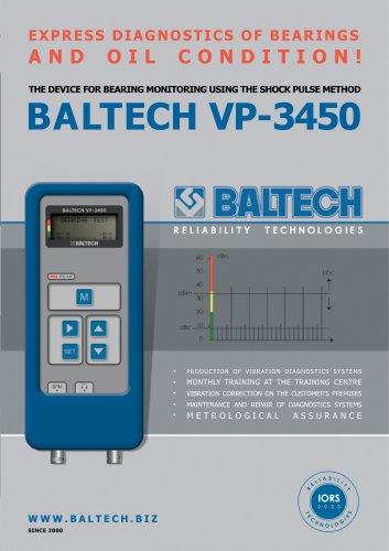 Vibration Meter BALTECH VP-3450