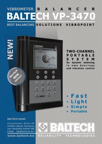 Vibrometer-Balancer BALTECH VP-3470