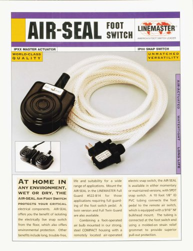 Air-Seal Foot Switch
