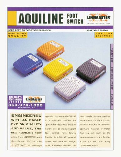 Aquiline Foot Switch