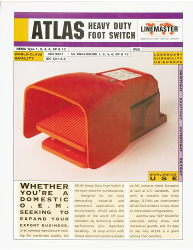 Atlas Heavy Duty Foot Switch