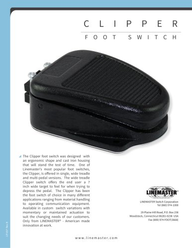 CLIPPER FOOT SWITCH