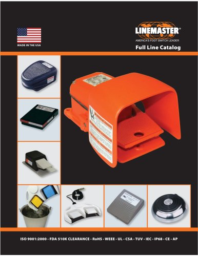 Linemaster Full Product Line Catalog