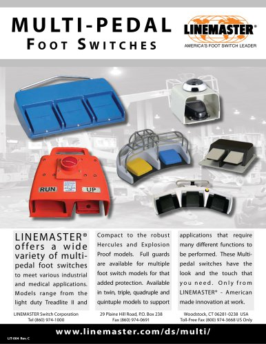 MULTI - PEDAL Foot Switches