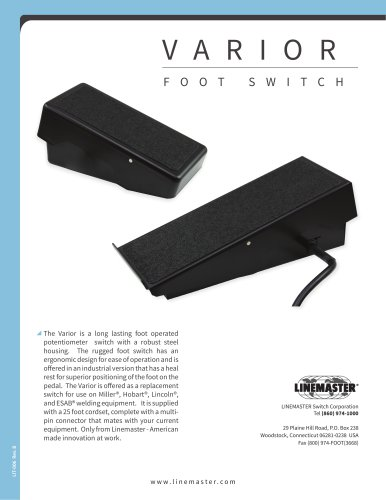 VARIOR FOOT SWITCH