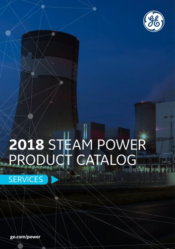 2018 STEAM POWER PRODUCT CATALOG