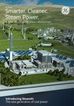 2018 STEAM POWER PRODUCT CATALOG - NEW BUILD UNITS