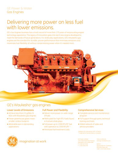 DELIVERING MORE POWER ON LESS FUEL WITH LOWER EMISSIONS