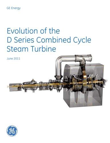 Evolution of D Series CC Steam Turbine (R3)
