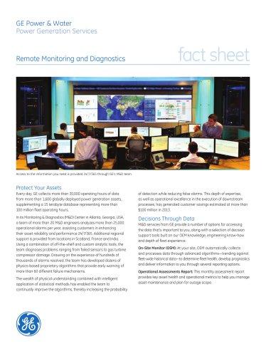 Remote Monitoring and Diagnostics