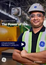STEAM POWER PRODUCT CATALOG