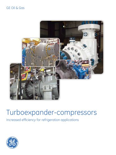 Turboexpander-Compressors