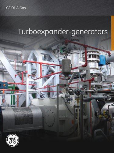 Turboexpander-Generators