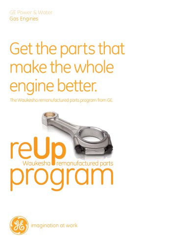 THE WAUKESHA REMANUFACTURED PARTS PROGRAM FROM GE.