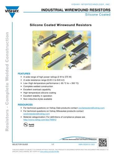 industrial wirewound resistors