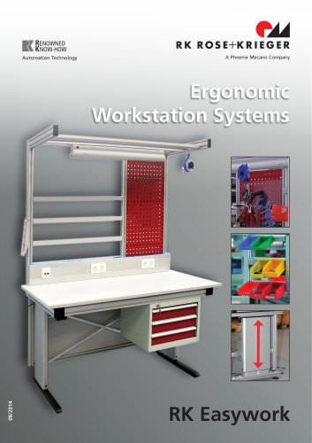 Assembly Workstation-Systems - RK Easywork