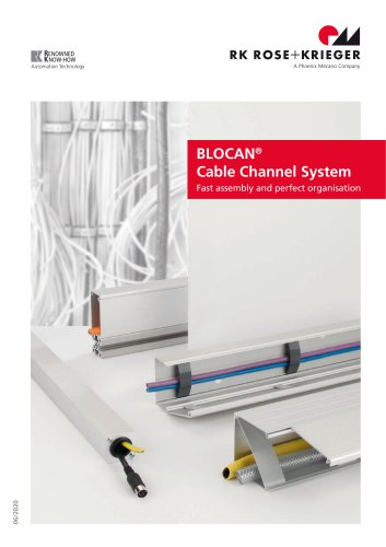BLOCAN® Cable Channel System
