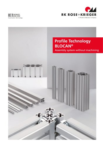 Complete catalogue Profile technology BLOCAN®