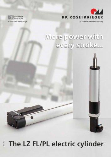 Electric cylinder LZ 70/80 FL/PL