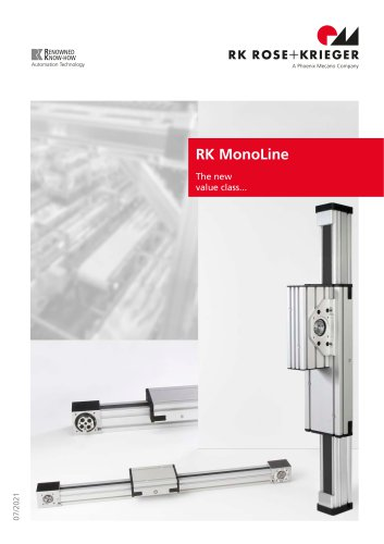 Linear unit RK MonoLine