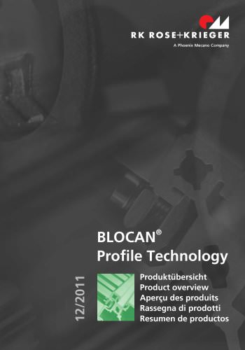 Product overview – BLOCAN profile systems