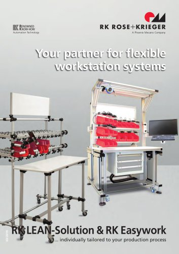 RK Easywork - Assembly Workstation Systems