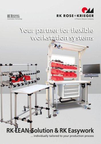 RK LEAN-Solution & RK Easywork Automation Technology 03/2019