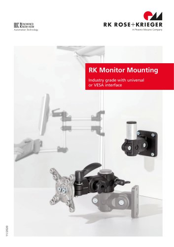 RK monitor mounting