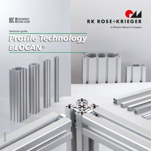 Selection guide - profile technology BLOCAN®