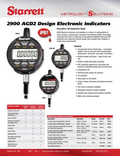 2900 AGD2 Design Electronic Indicators