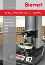 FORCE AND MATERIAL TESTING